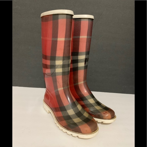 Burberry Shoes   Water Boots Wos Sz 37
